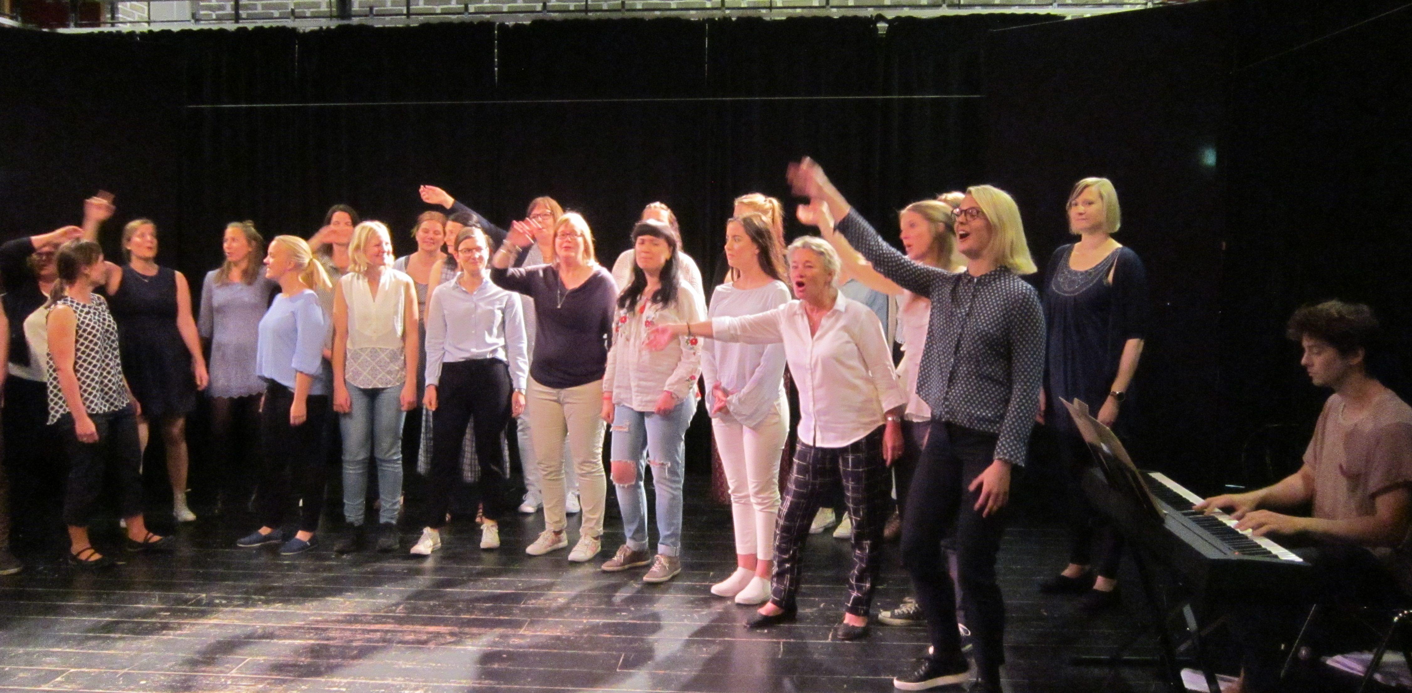 aktivitet körsång malmö stockholm götebord
